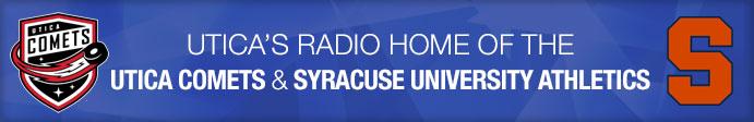 Utica's Radio Home of the Utica Comets & Syracuse University Athletics