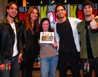 Halestorm acoustic session at Subcat